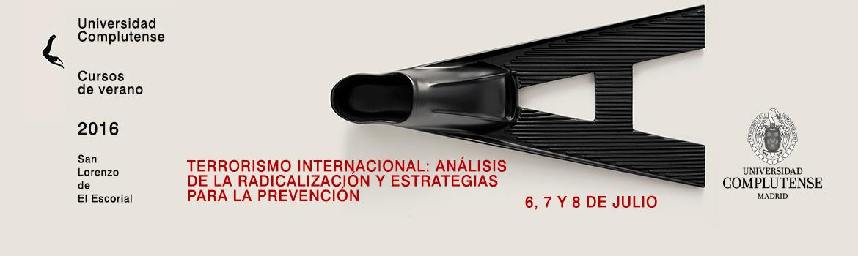 Cursos de verano - El Escorial 2016 - 6, 7 y 8 de Julio
